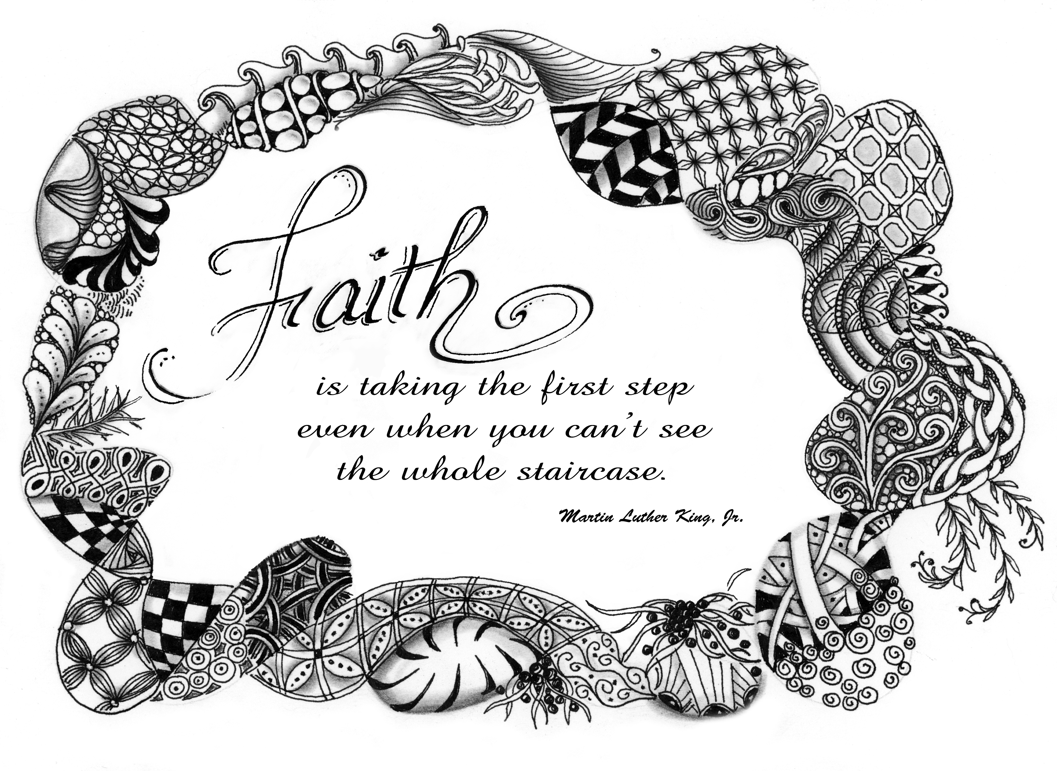 faith word of the year u2013 tangled up in art