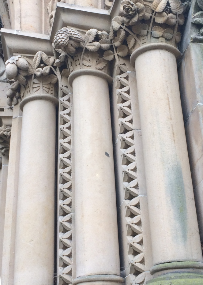 Tangles in architecture.