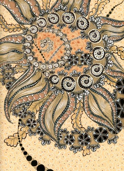 Swirl flower001