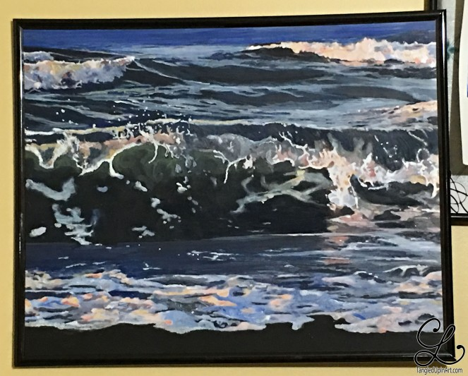 wave-painting